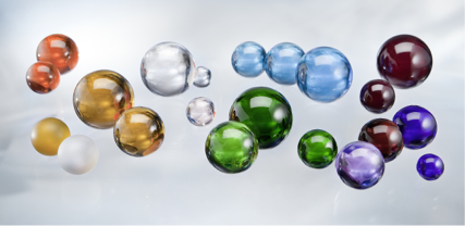 Glass beads and Glass spheres