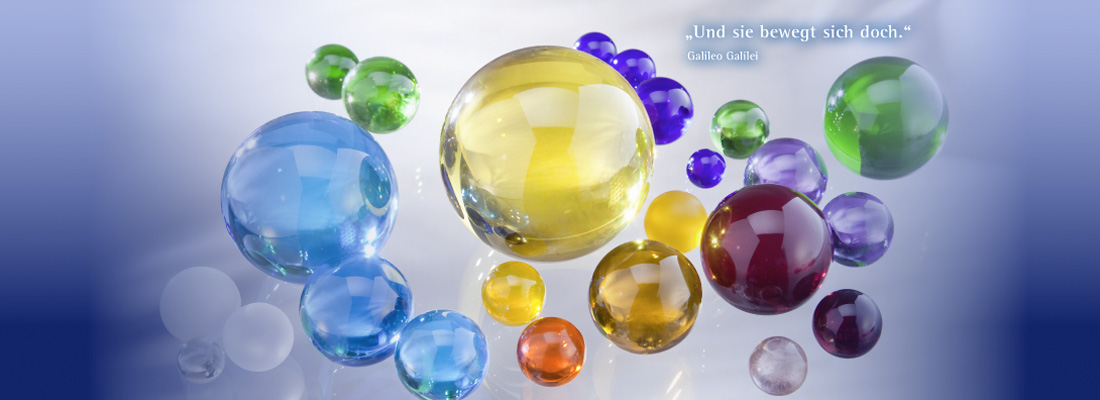 glass spheres and balls